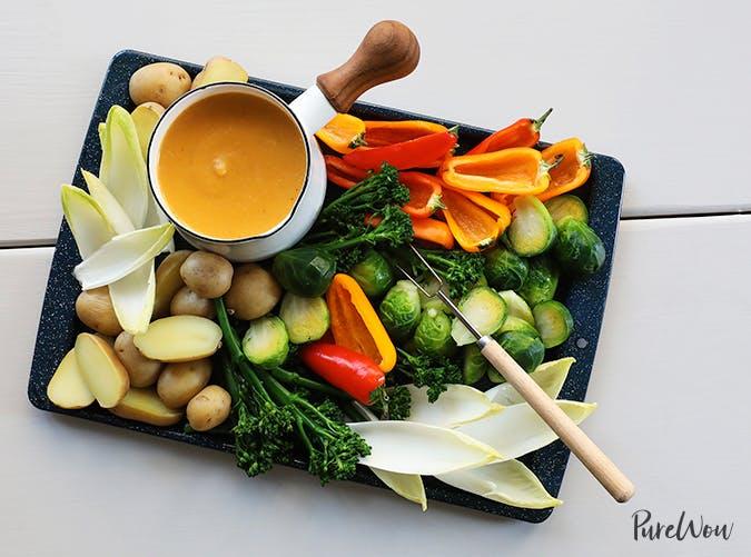 butternut squash fondue dairy free