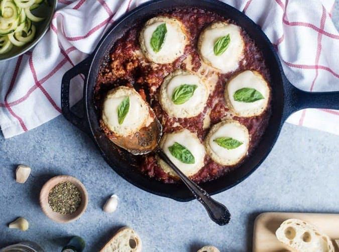 cauliflower caprese skillet recipe 501