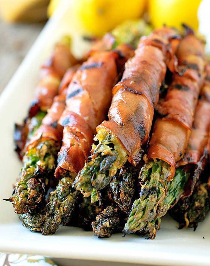 charred prosciutto wrapped asparagus 921
