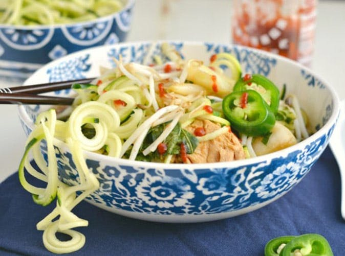 chicken zoodle pho diet slow cooker