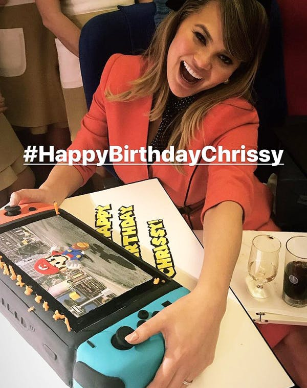 chrissy teigen birthday cake