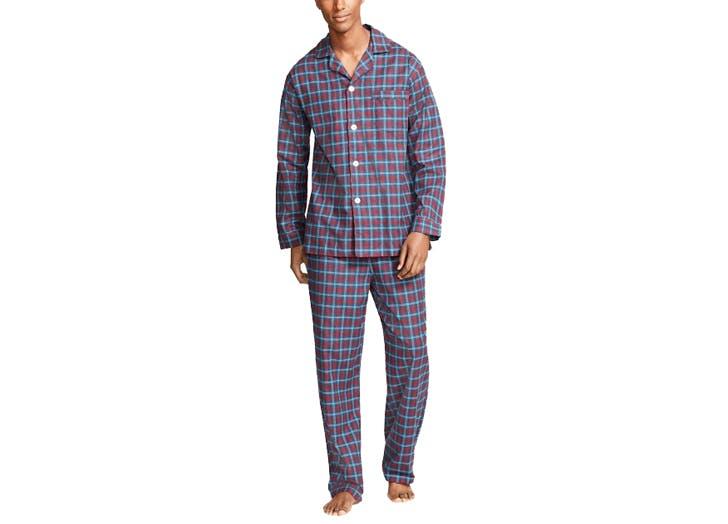 classic plaid pajamas