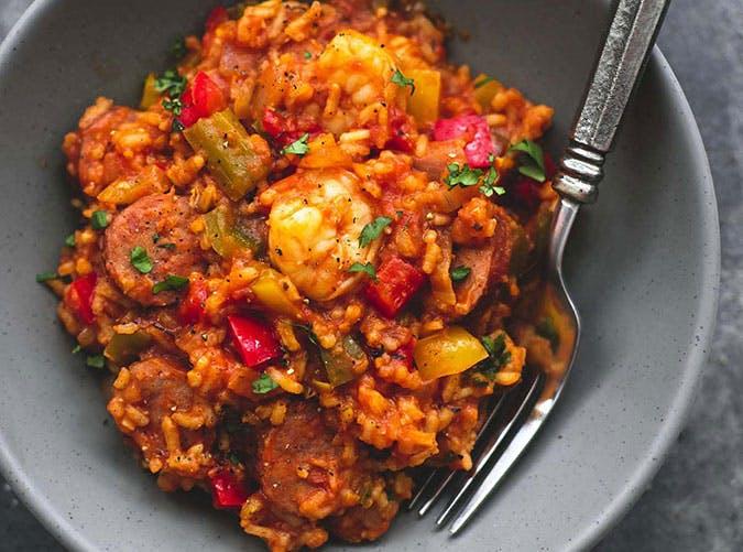 clean eating dinner recipe slow cooker jambalaya