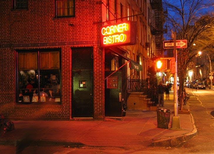 corner bistro NY