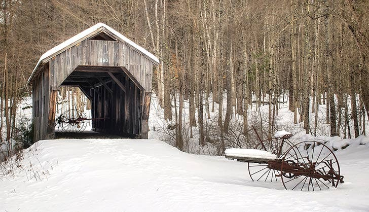 covered bridge vermont NY