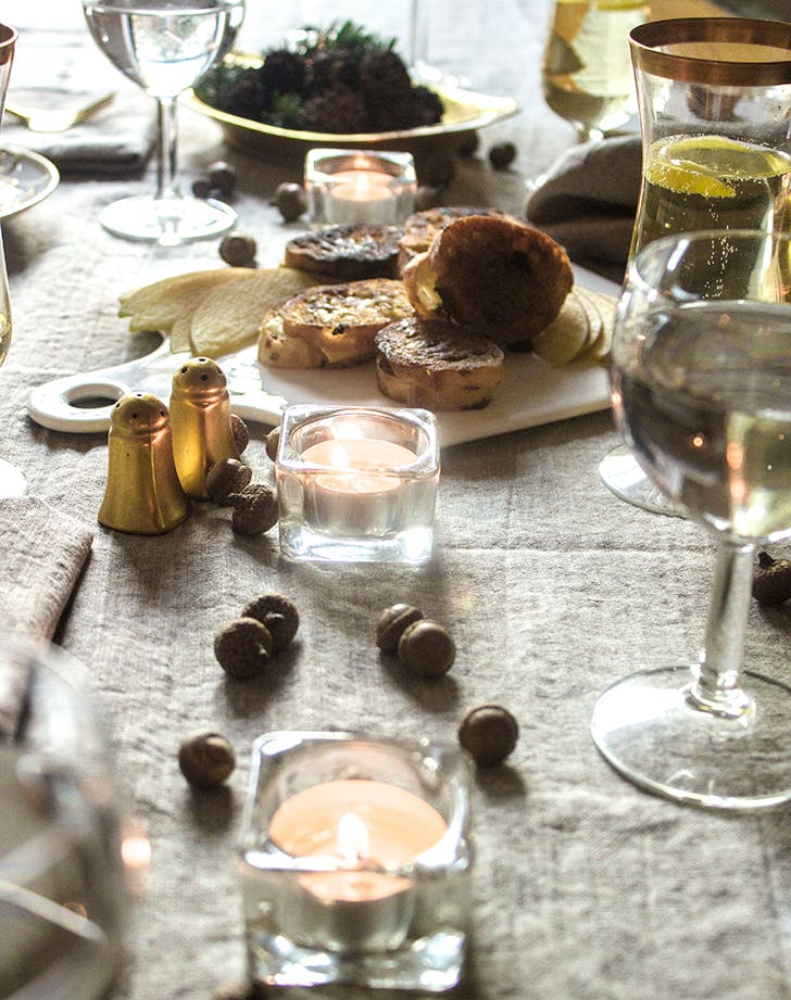 cozy dinner party under 2