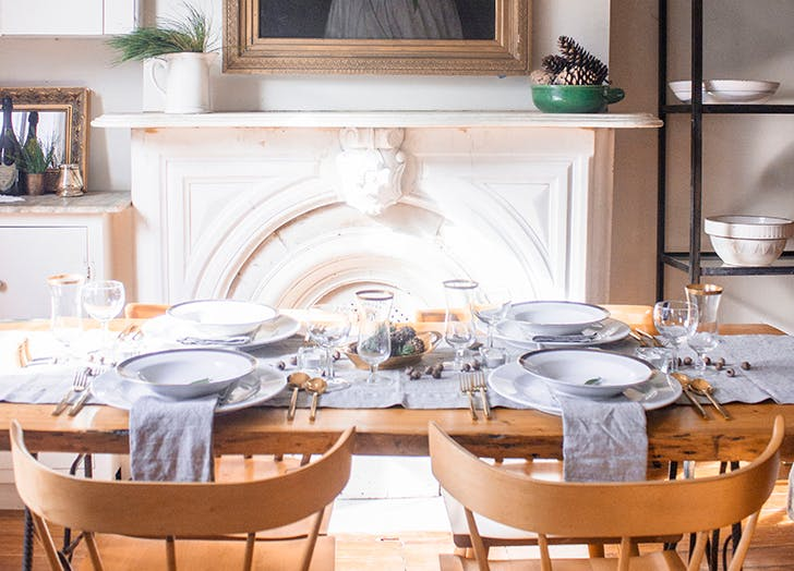 cozy winter Dinner Party 15
