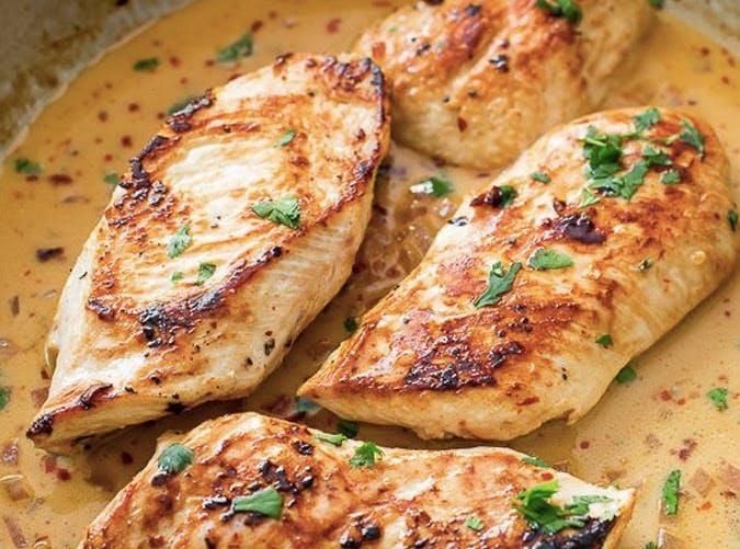 creamy cilantro lime skillet chicken recipe 501