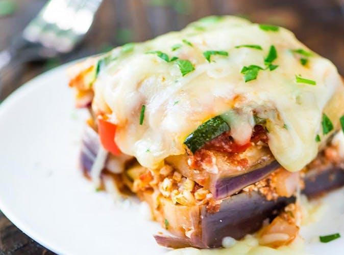 crockpot low carb lasagna under 500 calories