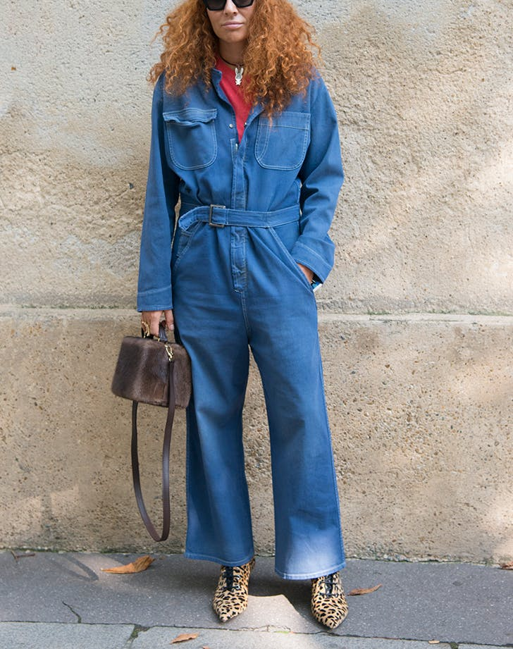 denim trends boiler suit