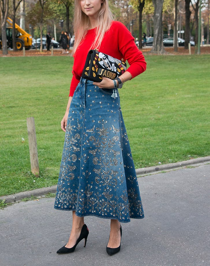 denim trends fancy skirts1