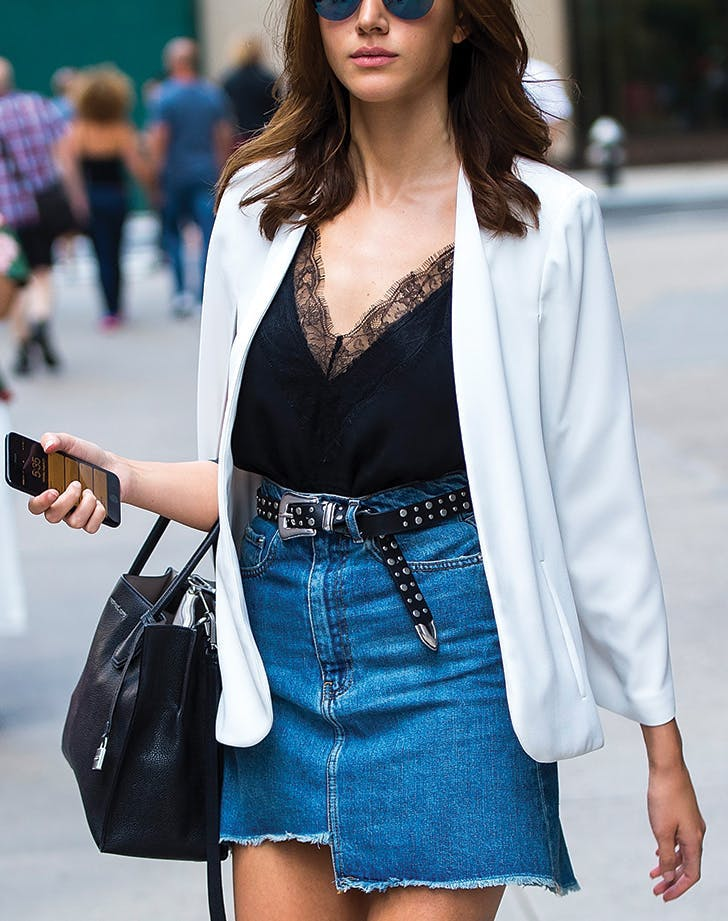 denim trends asymmetrical