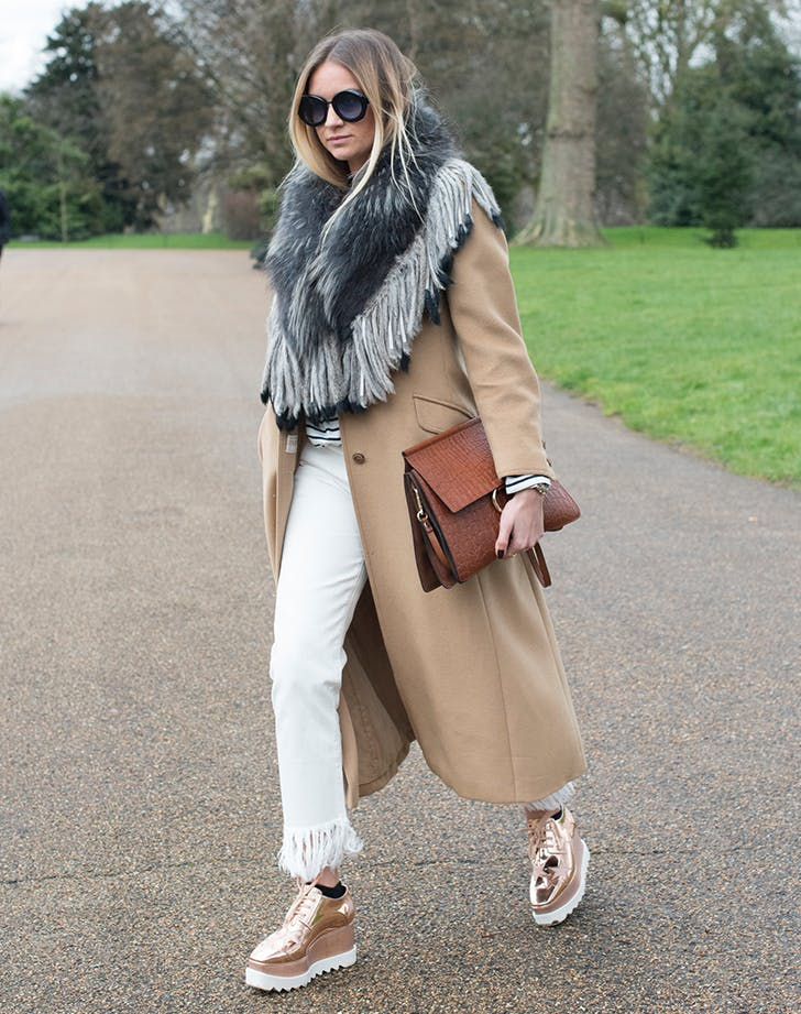 double up on scarves january winter outfit ideas