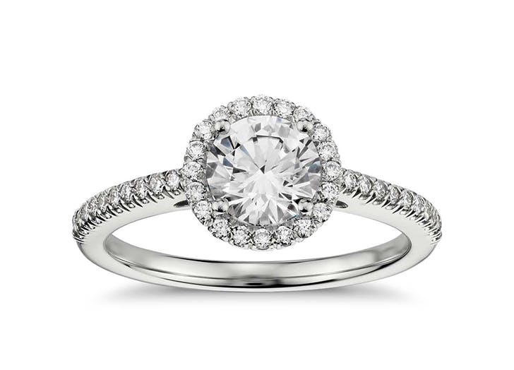 engagement rings diamond hedge