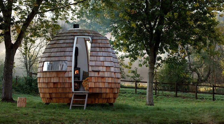 If Anybody Needs Us, Well Be Hiding Out in One of These Luxe Little Escape Pods