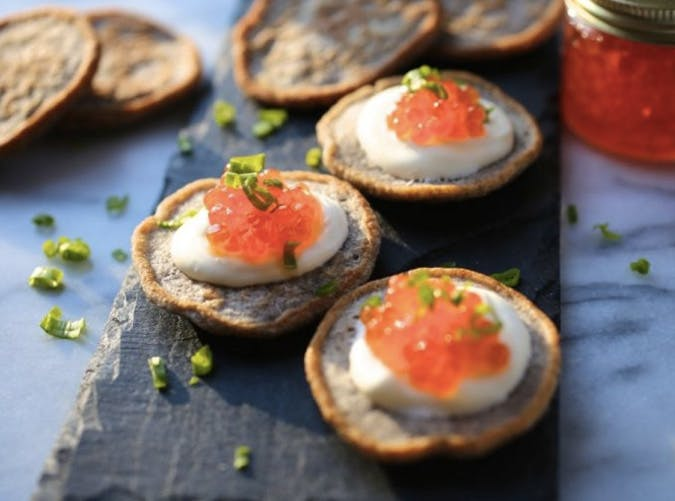 essential holiday recipes buckwheat blinis