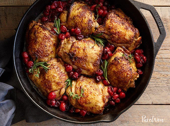 essential holiday recipes cranberry chicken