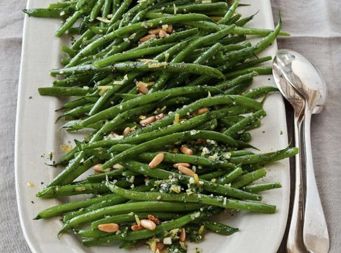 essential holiday recipes green beans