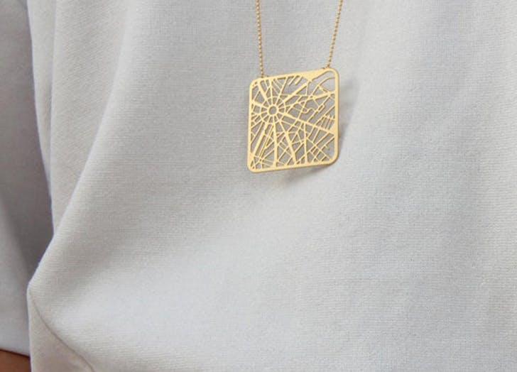etsy paris necklace