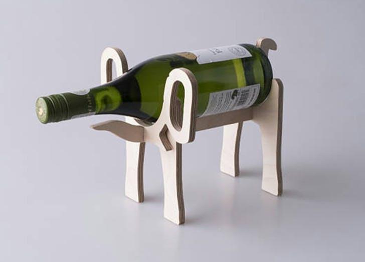 etsy wine rack