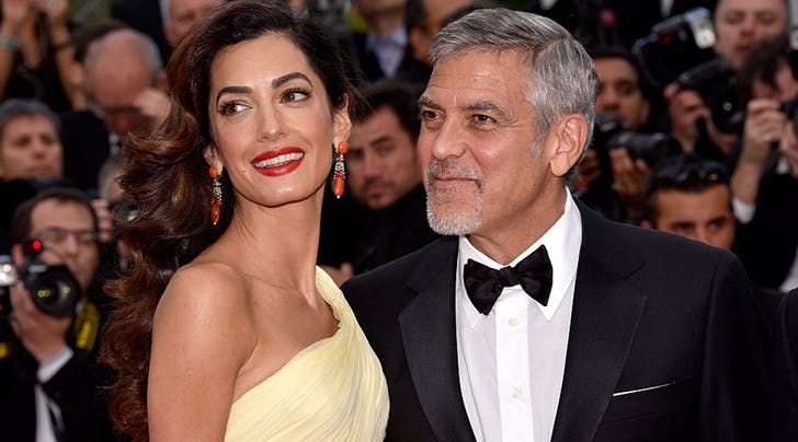 New Parents George and Amal Clooney Just Gave Every Single Passenger *This* Gift on a Recent Flight