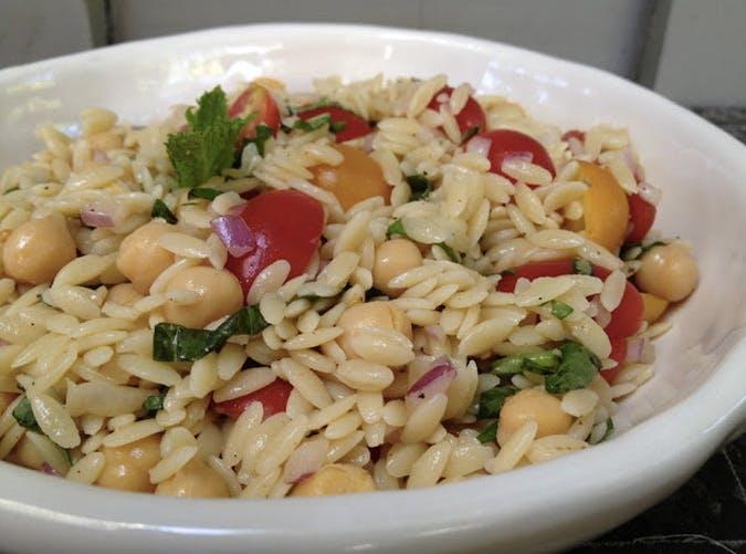 giada de laurentiis orzo pasta salad recipe