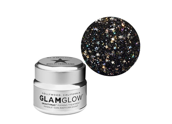 glam glow glitter mask list