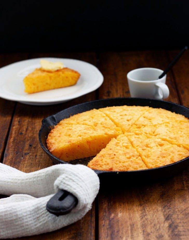 gluten free skillet cornbread 921