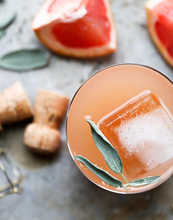 grapefruit champagne