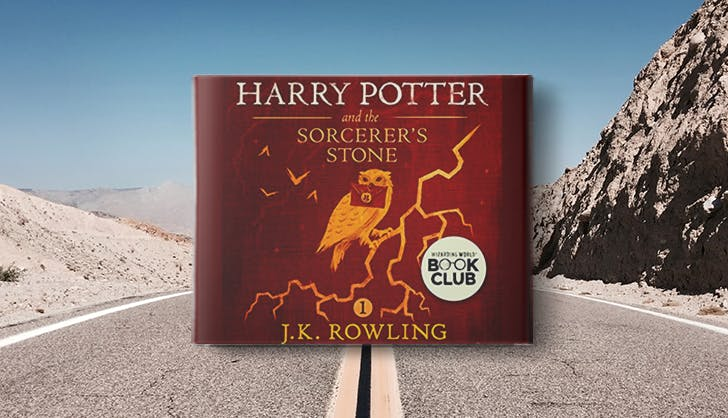 harry potter audio book