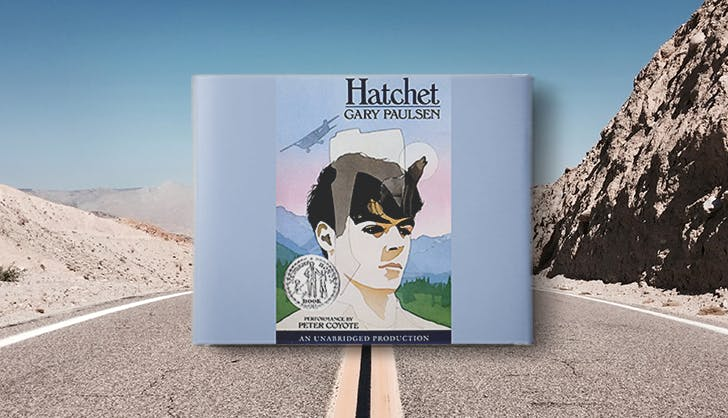 hatchet by gary paulsen audio book