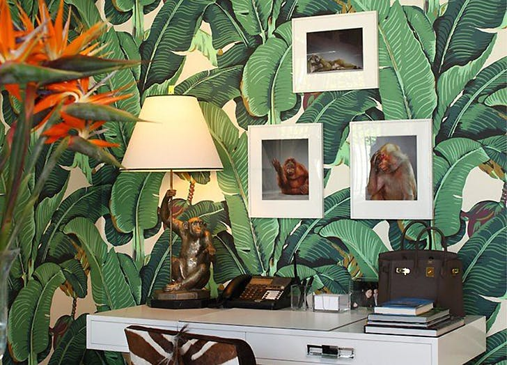 home trends that are out palmfronds