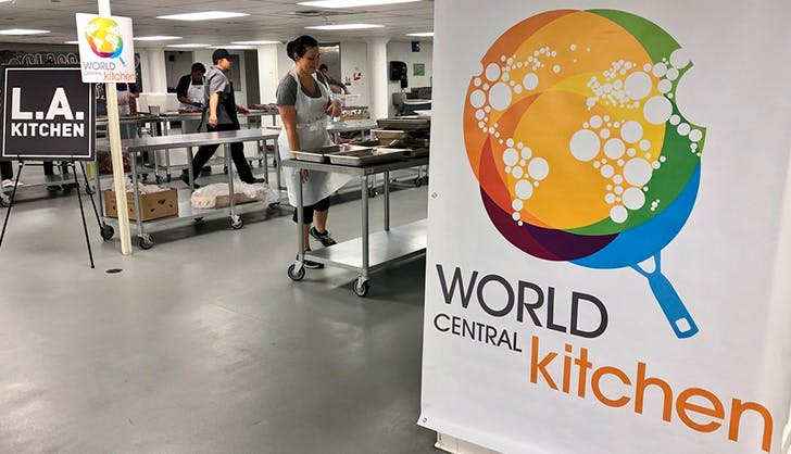la kitchen world central kitchen how to help with the southern california wild fires