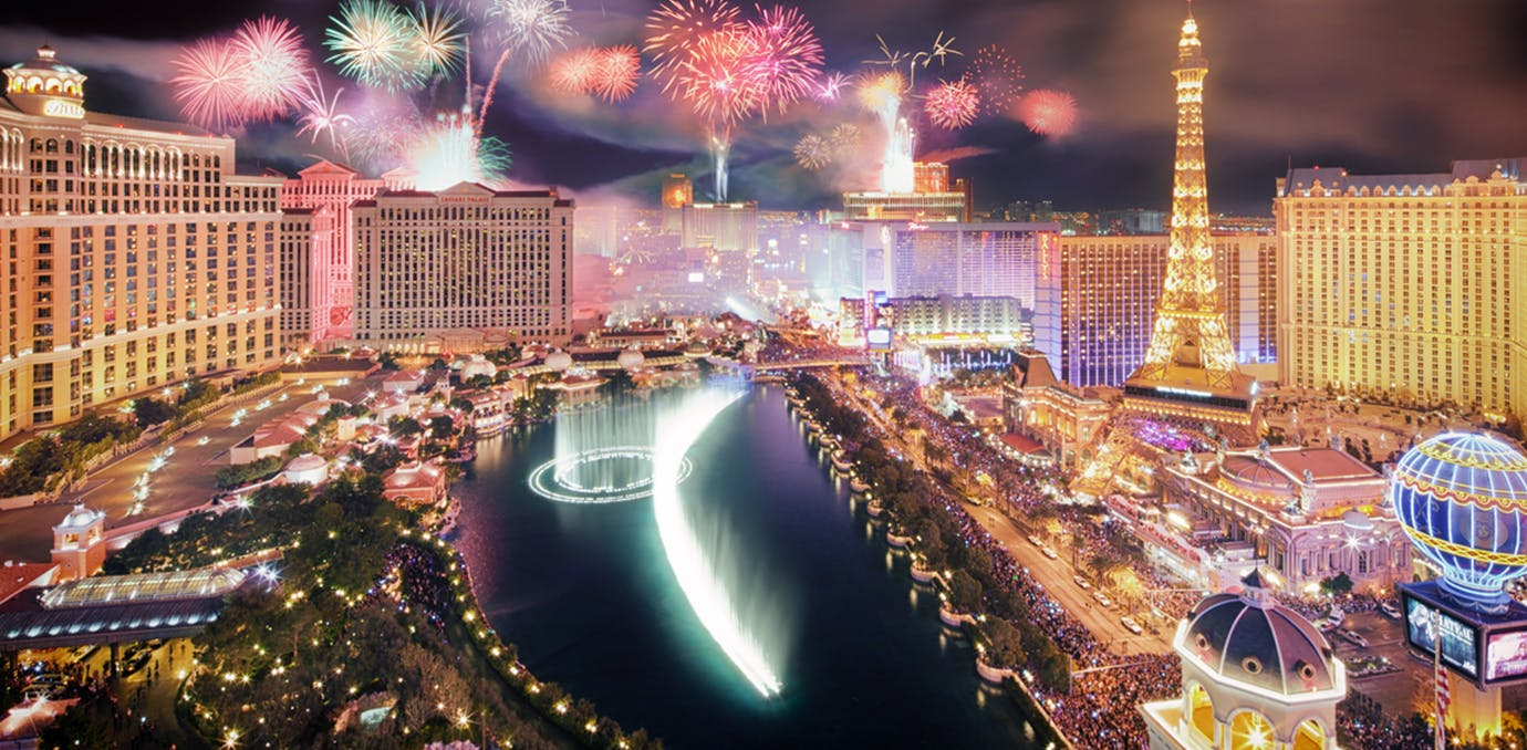las vegas nevada where to celebrate new year s eve in the us