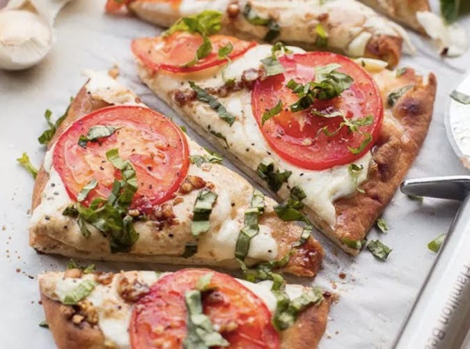lazy dinners margherita pizza