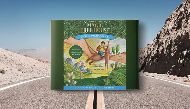 magic tree house audio book