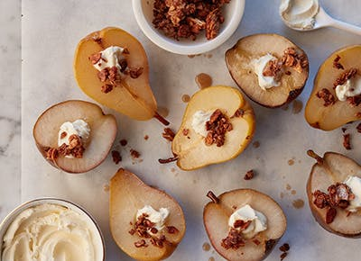 maple baked pears 290