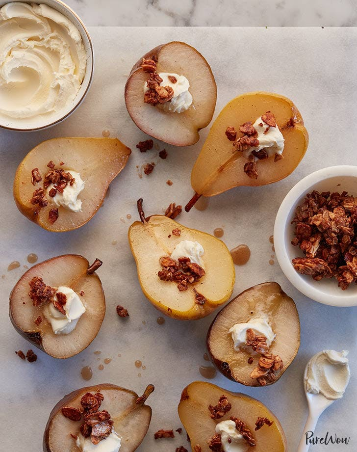 Maple Baked Pears