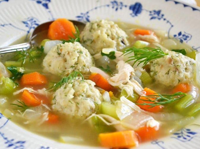 meghan markle matzo ball soup