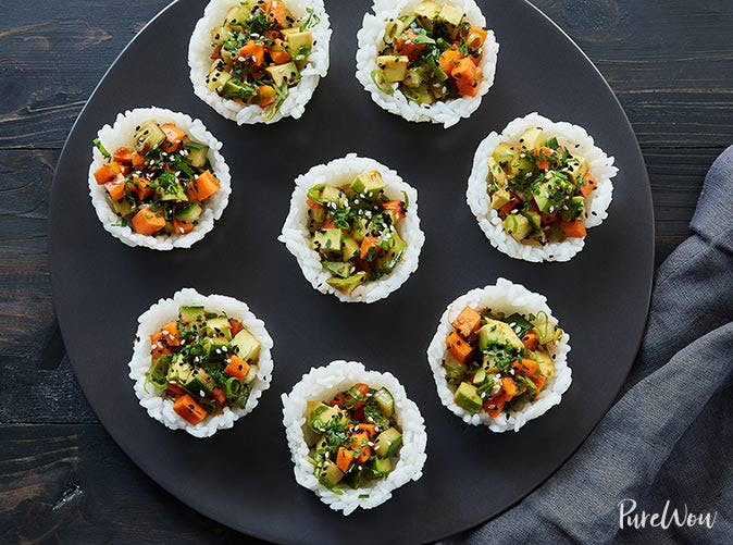 meghan markle mini sushi cups