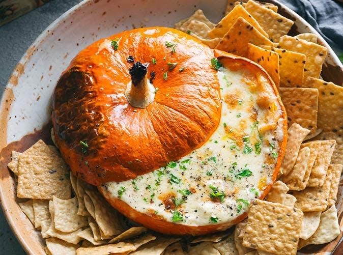 meghan markle pumpkin fondue