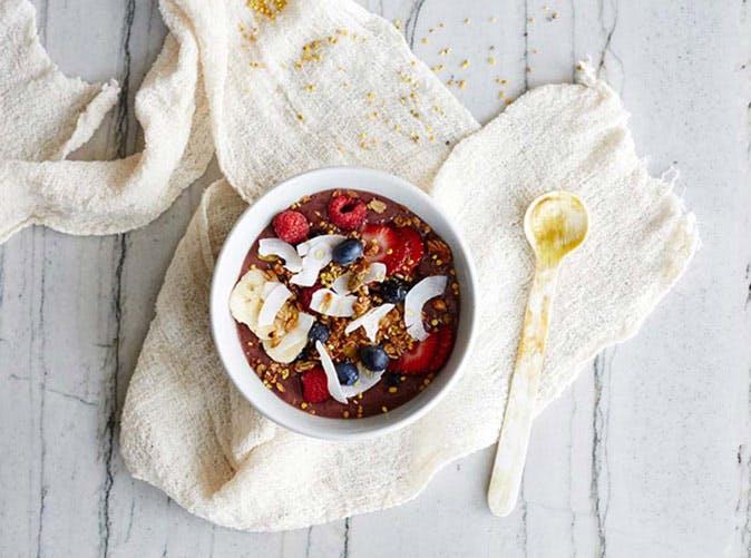meghan markle smoothie bowl
