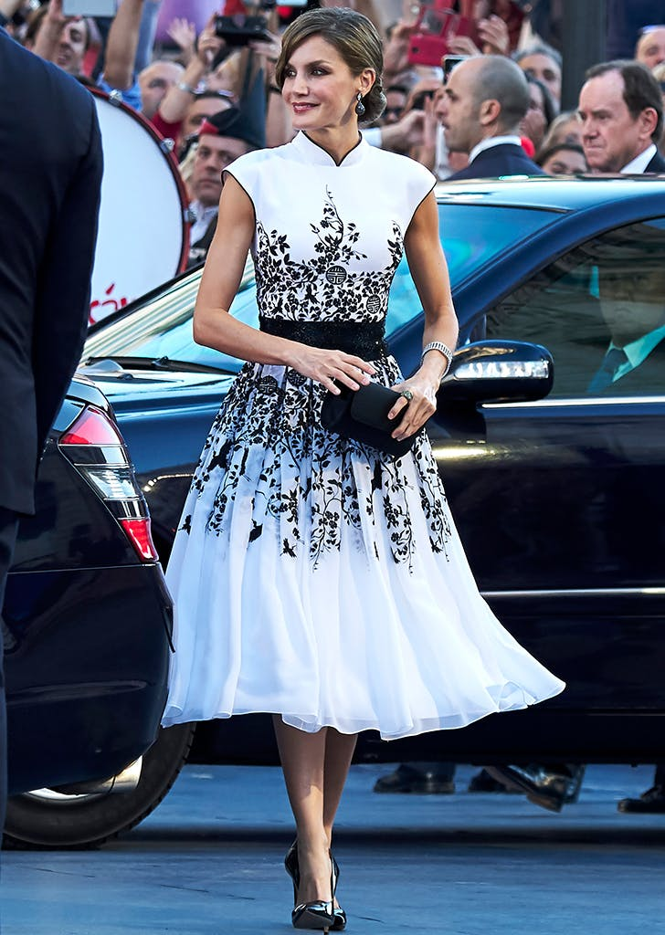 most stylish royals letizia
