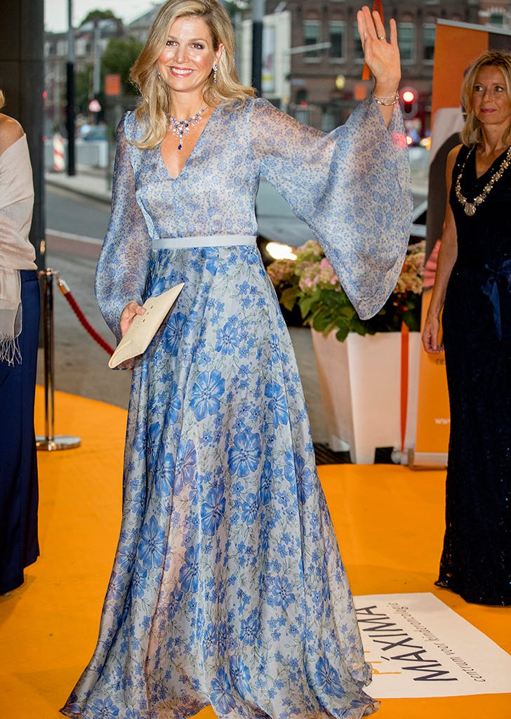 most stylish royals maxima
