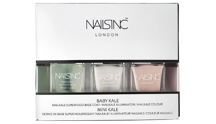 nailsinc Baby Nail Kale Nail Polish Collection beauty stocking stuffers