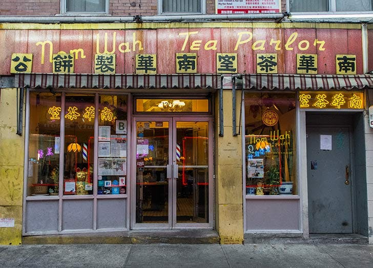 nom wah tea parlor NY