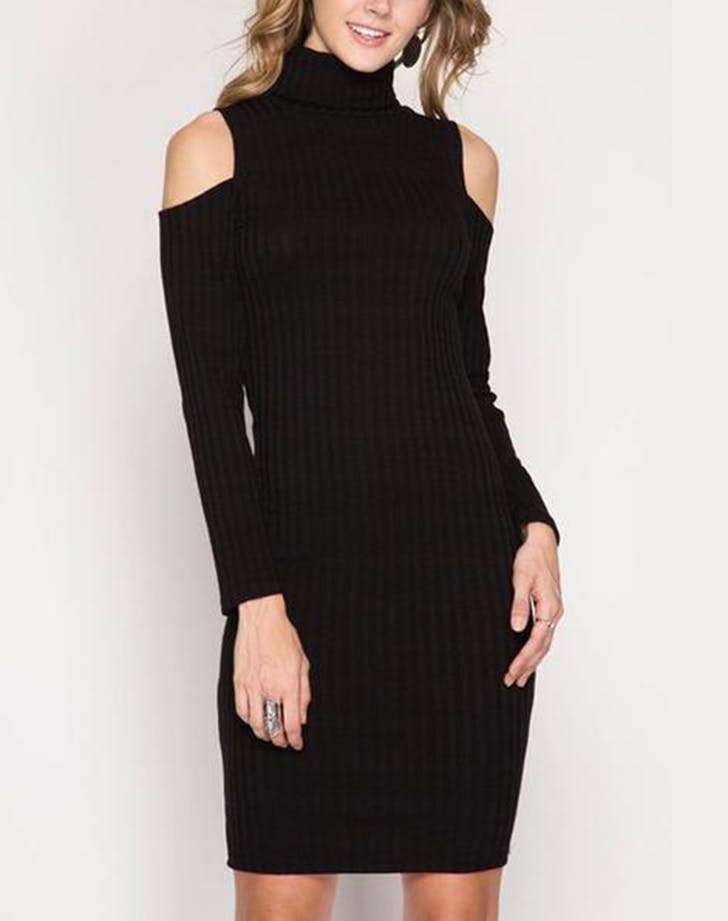 nye dresses turtleneck