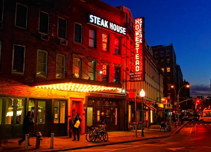 old homestead steakhouse NY