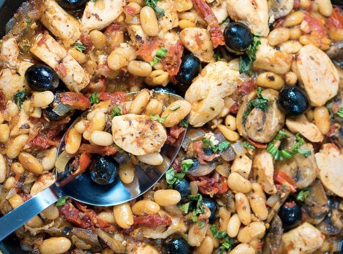 one skillet tuscan chicken recipe 501