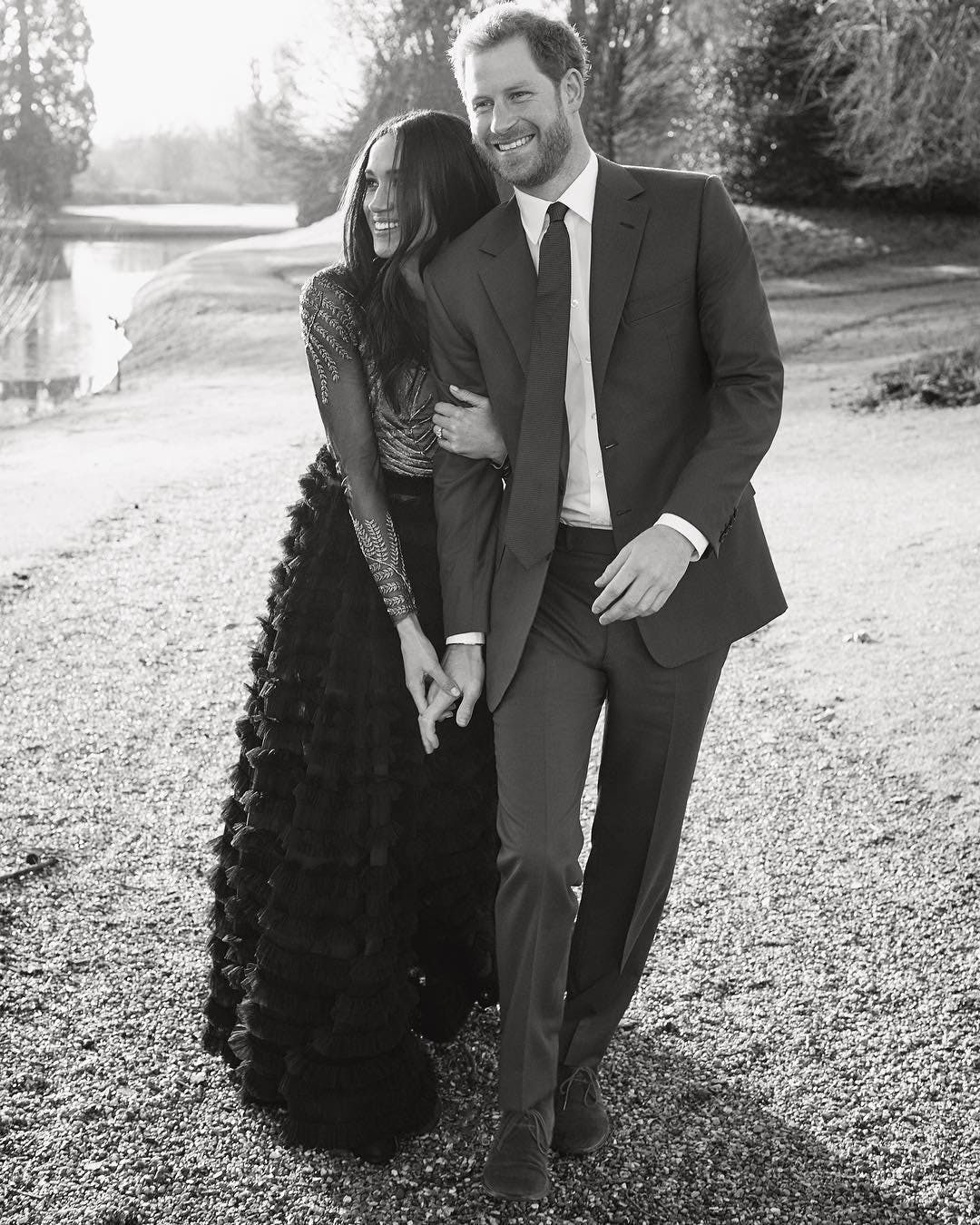 price harry meghan markle royal engagement photos 2